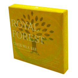Шоколад из кэроба необжаренного Royal Forest. 75 г